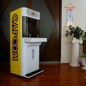 capcom mini cute arcade cabinet